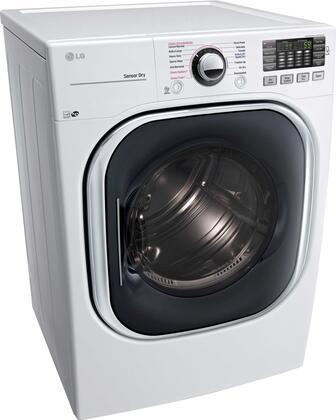 LG DLGX4371W 27 Inch Gas Dryer with 7 4 cu  ft  Capacity