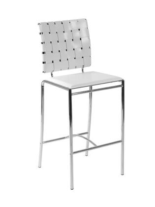 Euro Style 02424 Carina Series Leather Upholstered Bar Stool |Appliances Connection