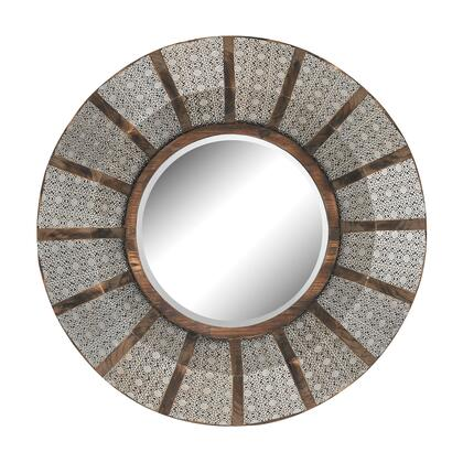 Sterling 172001 Pierced Metal Series Round Both Wall Mirror