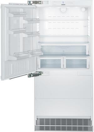 """Liebherr HC2061 36"""" Counter Depth Bottom Freezer Refrigerator with 19.4 cu.ft. Total Capacity 6 cu.ft. Freezer Capacity 2 Glass Shelves"""