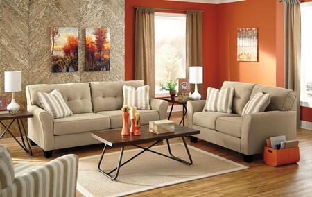 Milo Italia MI1397QSSLACKHAK Lizeth Living Room Sets