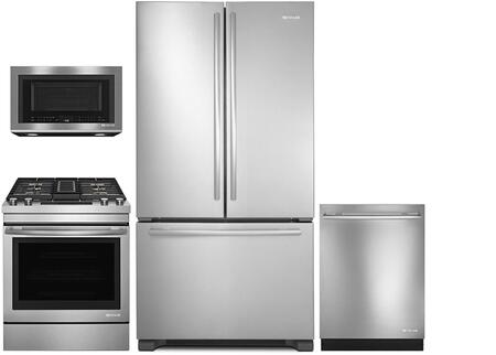 Jenn Air 999101 4 Piece Stainless Steel Kitchen Appliances Package