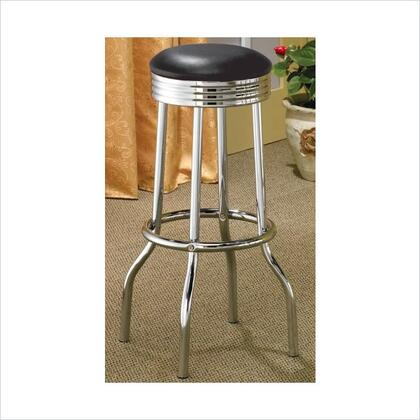 Incredible Coaster Cleveland 2408 Chrome Plated Soda Fountain Bar Stool Alphanode Cool Chair Designs And Ideas Alphanodeonline