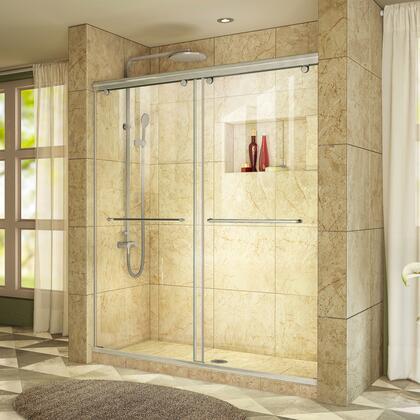 DreamLine Charisma Shower Door RS39 60 04 Tiled Center Drain E