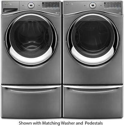 Whirlpool Wed94heac 27 Inch 7 3 Cu Ft Electric Dryer In