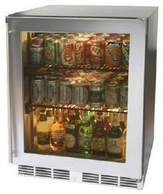 Perlick HC24RB3RDontUse Commercial Series Compact Refrigerator with 4.9 cu. ft. Capacity