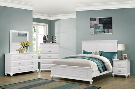 Simmons Upholstery 1009505268SQ Cape Cod Queen Bedroom Sets