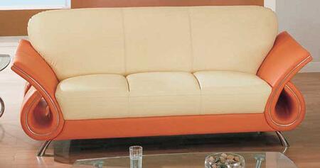 Global Furniture USA 559S  Leather Sofa