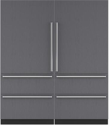 Sub-Zero 710467 Side-By-Side Refrigerators