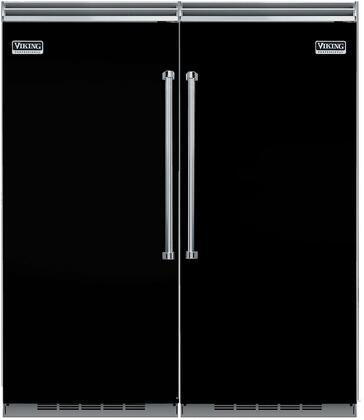 Viking 735614 Side-By-Side Refrigerators