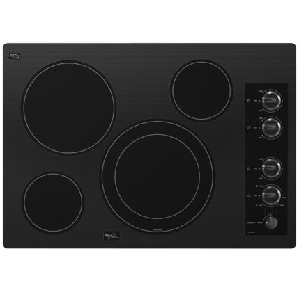 "Whirlpool G7CE3034XB 30"" Gold Series Electric Cooktop"