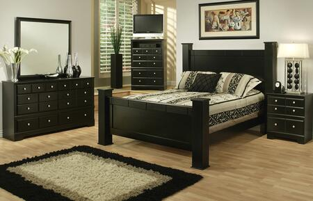 Sandberg 334A Elena Queen Bedroom Sets