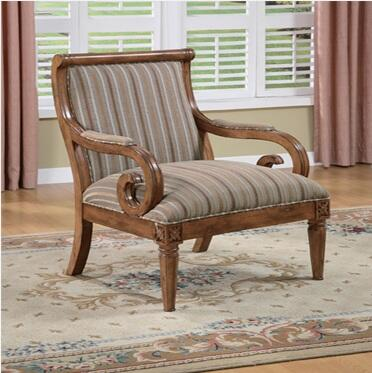 Powell 399620 Classic Seating Series  Accent Chair