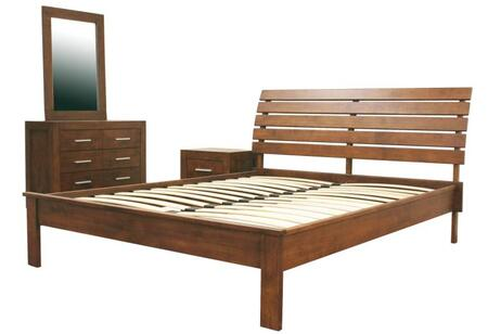 Wholesale Interiors ROBBINQUEENBED109 Robbin Series  Queen Size Bed