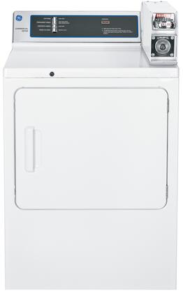 GE DMCD330GJWC Commercial Series Gas Dryer, in White