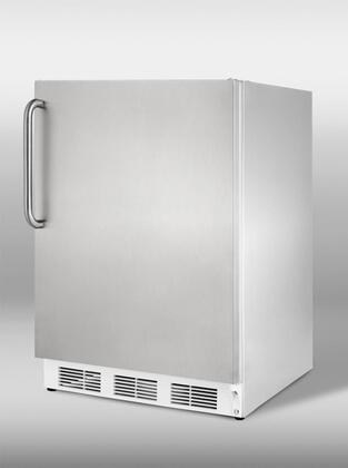 """Summit VT65MCSS24"""" Built In Upright Counter Depth Freezer 