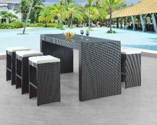 Global Furniture USA T920T1SET1 Patio Sets