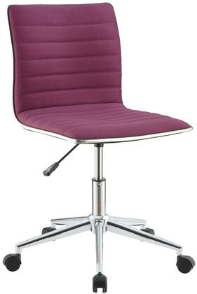 "Coaster 800728 21"" Adjustable Transitional Office Chair"