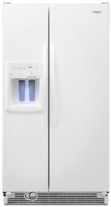 Whirlpool GS6NHAXVQ Gold Series White Side by Side Refrigerator with 25.6 cu. ft. Capacity
