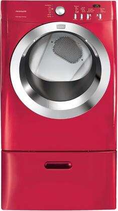 Frigidaire FAQE7073KR Affinity Series Electric Dryer, in Red
