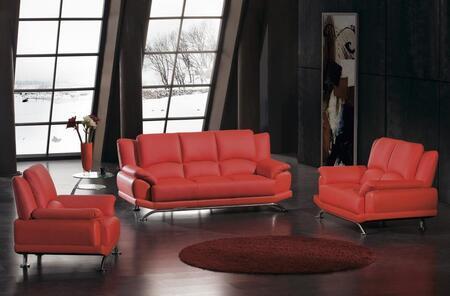 VIG Furniture VGDM2818BL Modern Leather Living Room Set