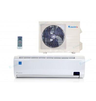 Klimaire KSIL018H219 Mini Split Air Conditioner 1000 sq. ft. Cooling Area, Adjustable Air Direction