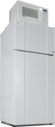 Picture of 103LMF4-9D1W Freestanding Top Freezer Refrigerator with 103 Cu Ft Capacity  850 Watt Microwave  Smoke Sensor  USB Charging Station  Temperature Control and