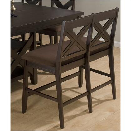 Jofran 453BS45KD Morgan Series Kitchen Armless Wood Faux Leather Bench