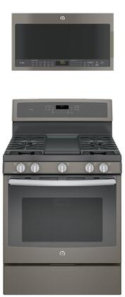 GE Profile 684020 Slate Kitchen Appliance Packages