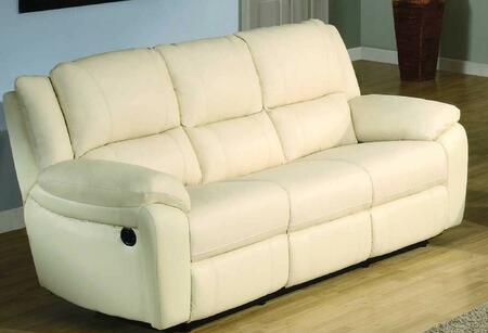 Yuan Tai BA6636SIV Baxter Series Sofa Leather Sofa
