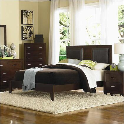Coaster 200761Q Tiffany Series  Queen Size Panel Bed