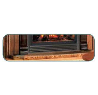 """Napoleon HPSXTK 42"""" Hearth Pad for Gas Burning Fireplaces in X: Black Tile"""