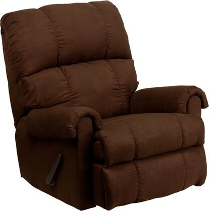 Flash Furniture WM8700112GG WM-8700 Series Contemporary Microfiber Wood Frame Rocking Recliners