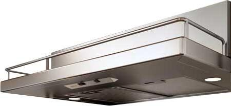 "Zephyr ZTEE3XAS290 XX"" Essential Europa Series Terazzo Under-Cabinet Range Hood with 290 CFM Internal Blower, Mechanical Slide Control, 3 Speed Levels and Dual Level Halogen Lighting, in Stainless Steel"