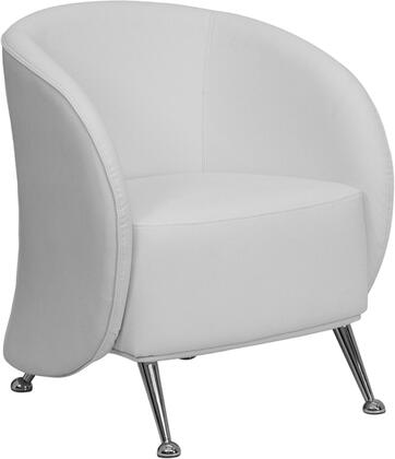 """Flash Furniture ZBJET855WHGG 27.5"""" Contemporary Office Chair"""