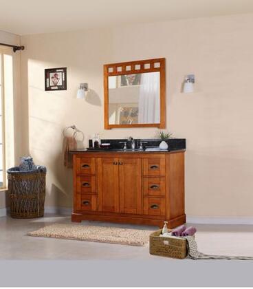 Legion Furniture WLF608X48+TOP 48in. Single Sink Cabinet-Matching Granite From Wlf5016, Wlf5020, Wlf5048, Wlf6012, Wlf6018