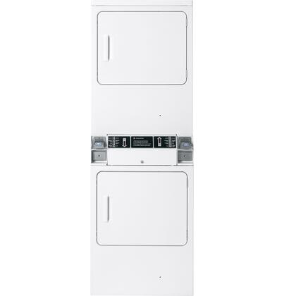 """GE DDC4500TWH Front Load Gas Yes 27"""" Knobs No Dryer 