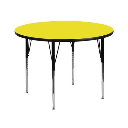 Flash Furniture XUA42RNDYELHAGG