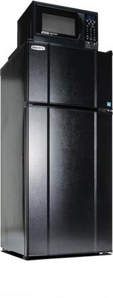 Picture of 103LMF4-9D1 Freestanding Top Freezer Refrigerator with 103 Cu Ft Capacity  850 Watt Microwave  Smoke Sensor  USB Charging Station  Temperature Control and
