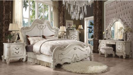 Acme Furniture 21147EK7SET Versailles King Bedroom Sets