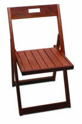 Tag 390165  Wood Frame  Patio Chair