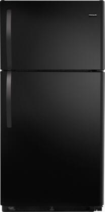 Frigidaire FFHT1513LB Freestanding Top Freezer Refrigerator with 14.8 cu. ft. Total Capacity 2 Wire Shelves 3.74 cu. ft. Freezer Capacity |Appliances Connection