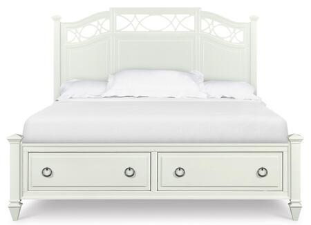 Magnussen B202967K2 Morgan Series  King Size Storage Bed