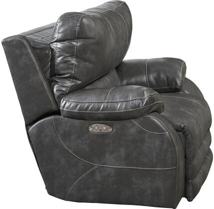 Catnapper 642707115278125278 Sheridan Series Contemporary Faux Leather Metal Frame  Recliners