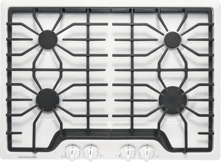 Frigidaire FFGC3026Sx Frigidaire ADA Compliant Built-In Gas Cooktop With 4 Sealed Burners, Continues Grates, Low Simmer Burner And Color-Coordinated Knobs