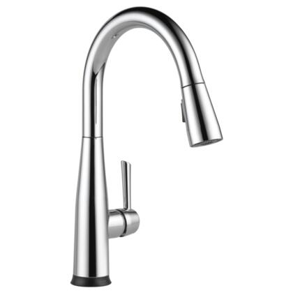 Essa  9113T-DST Delta Essa: Single Handle Pull-Down Kitchen Faucet with Touch2O Technology in Chrome
