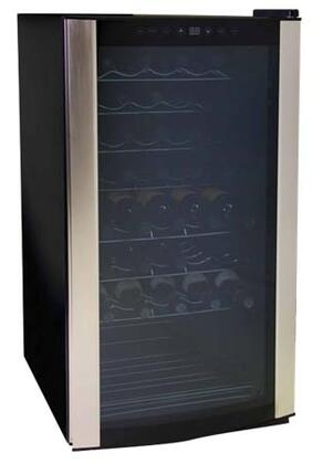 "Aficionado A313 20.25"" Freestanding Wine Cooler, in Stainless Steel"
