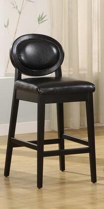 Armen Living LC7015BABL26 Residential Leather Upholstered Bar Stool