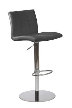 Euro Style 17180BLK Curley Series  Bar Stool