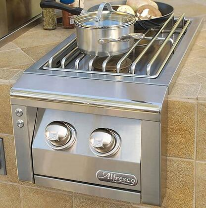 "Alfresco AXESB2 14"" Built-In 2 Burner Unit in Stainless Steel"